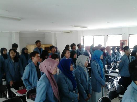 Pelantikan Pengurus BEM DAN DPM HMJ Administrasi Pendidikan 2013-2014